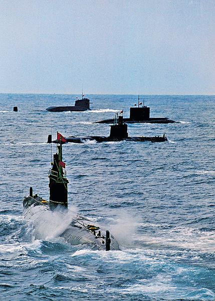 華擁3核潛艇生產綫 3年可造12艘