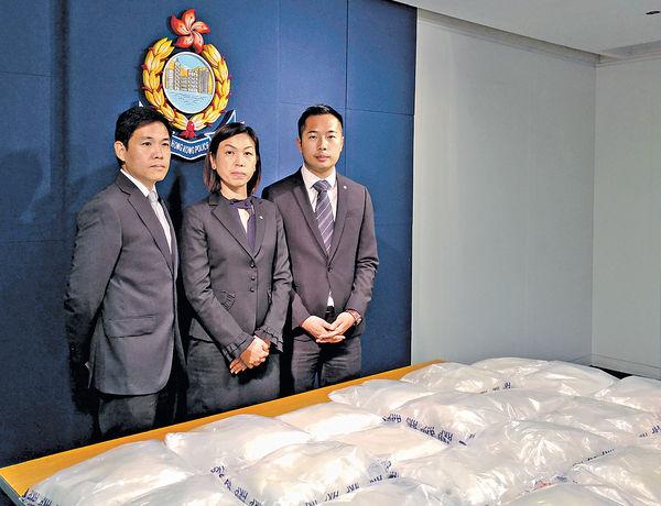 粉嶺檢$4300萬可卡因 拘2人