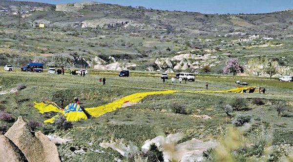 土國熱氣球又墜毀 1死20傷