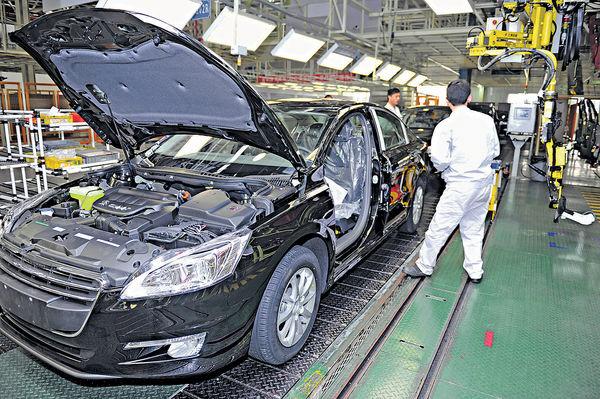 東風汽車 上月銷量升4.7%