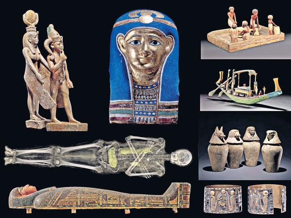 大英博物館藏品6月展 木乃伊空降香港
