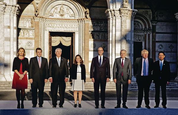 G7外長會議 制裁敘俄未達共識