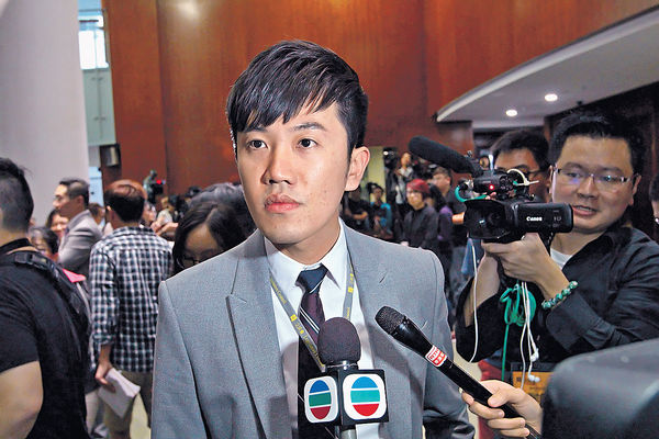 鄭松泰涉辱國旗區旗 下周二提堂擬不認罪