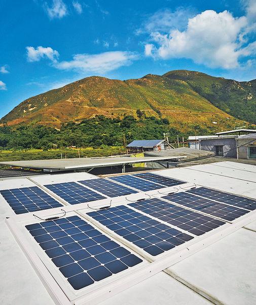 大澳棚屋 太陽能發電 慳錢又環保