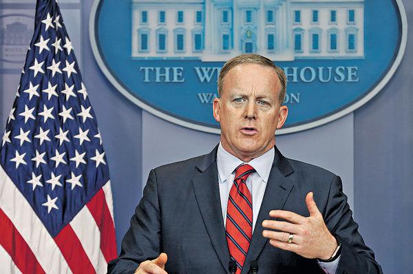 「希特拉沒用化武」 白宮發言人衰多口