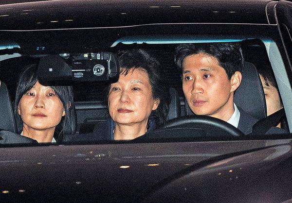 檢方擬下周一起訴朴槿惠