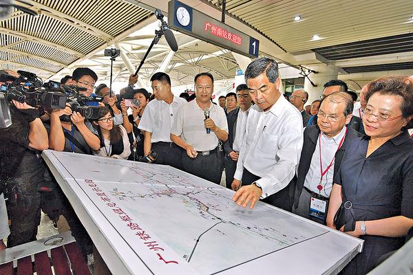 高鐵香港段建成後 可通歐洲
