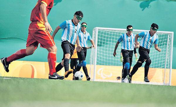阿根廷盲人足球奪冠路