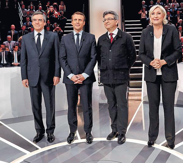 法國大選周日舉行 左右兩極對決