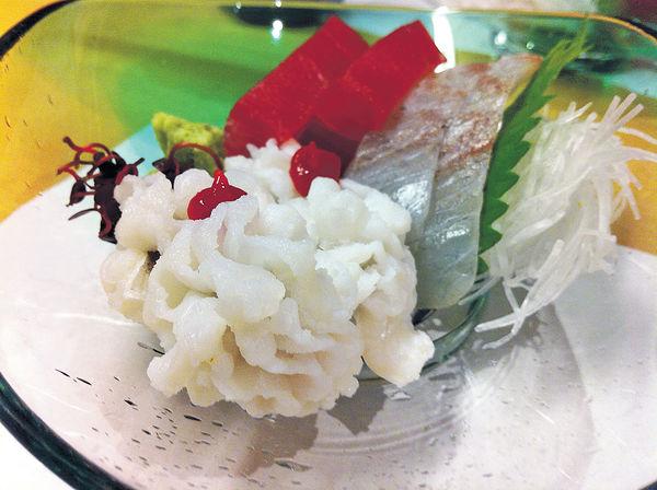七鰓鰻和花錦鱔