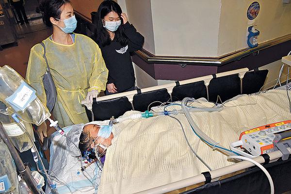 鄧桂思已有意識 仍留深切治療部