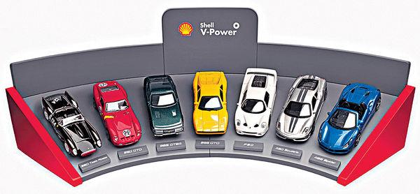 Shell入油 換購法拉利模型車