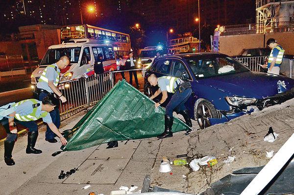 房車剷巴士站1死1傷