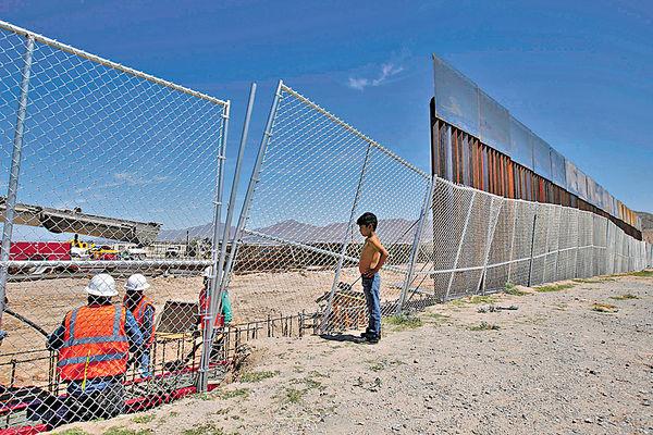 特朗普就圍牆讓步 爭取華府免停擺