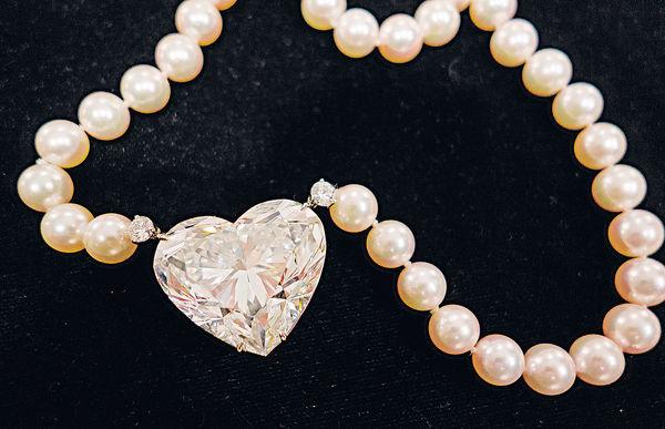 全球最大心形鑽石 破紀錄$1.2億成交