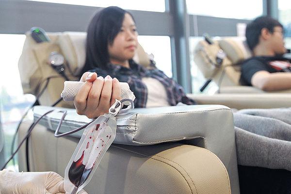 旅遊網鼓勵同事捐血 捐血1次 放假1天
