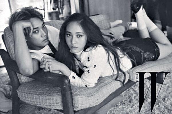 Kai與Krystal一年情斷