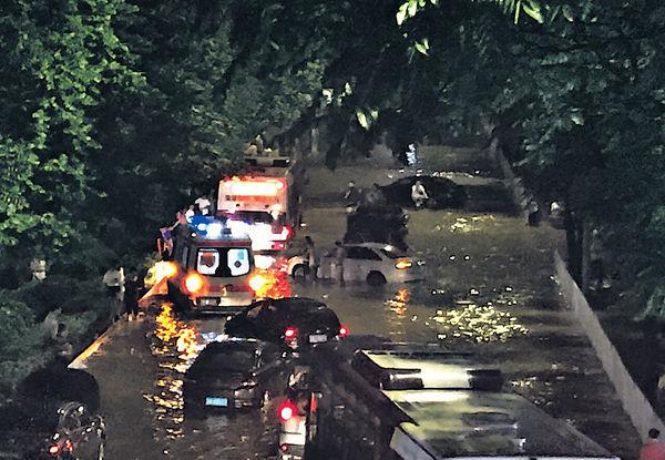 兩岸雨災 台7死傷2失蹤