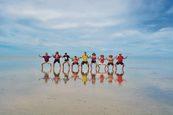 馬來西亞天空之鏡 隱世海域等潮退