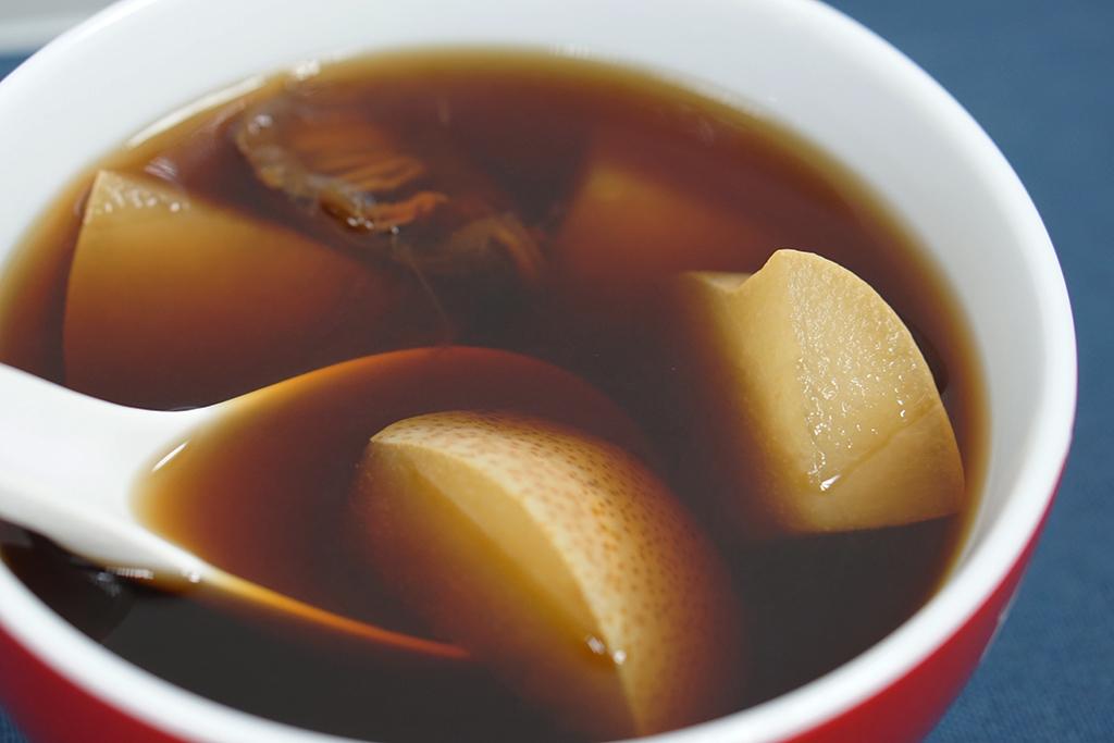 清熱、化痰!2步完成潤肺茶療