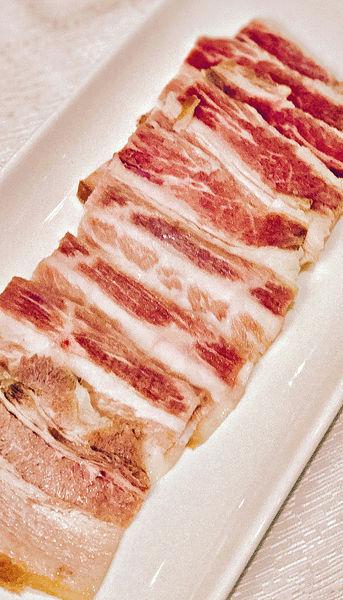 風肉扣肉白片肉