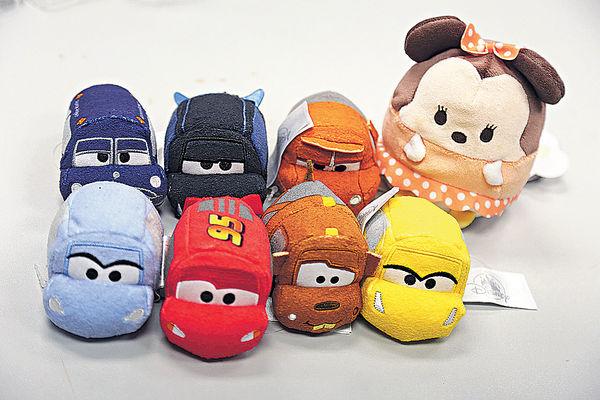迪士尼推逾千新商品 Ufufy公仔受歡迎