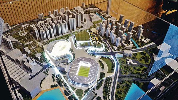 馬逢國:民調撑建體育園