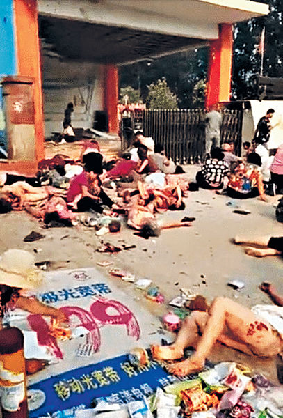 江蘇幼兒園爆炸 釀7死66傷