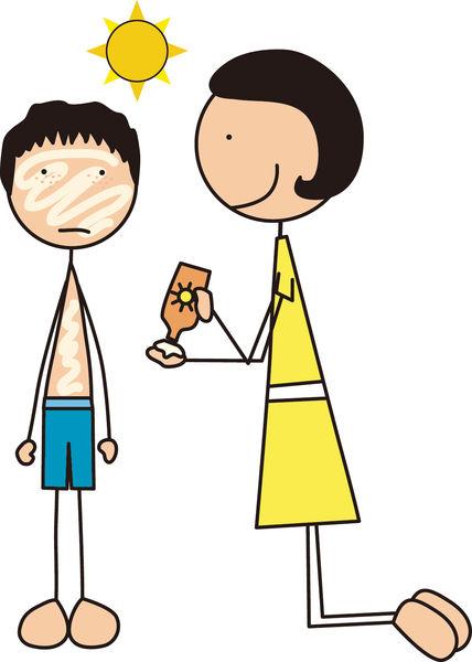 誤用成人防曬品 幼童爆紅疹