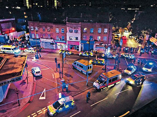報復回教徒 倫敦貨Van恐襲 11死傷