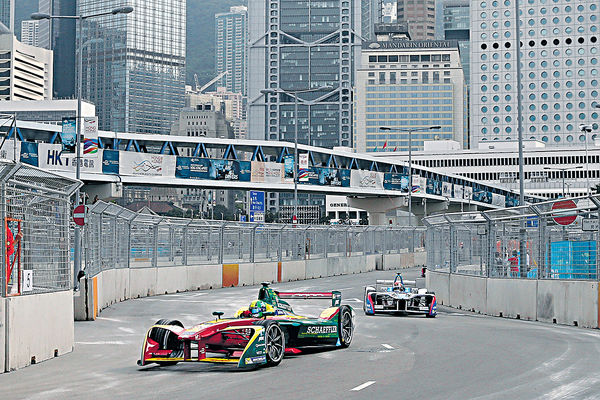 Formula E 12月中環再起跑