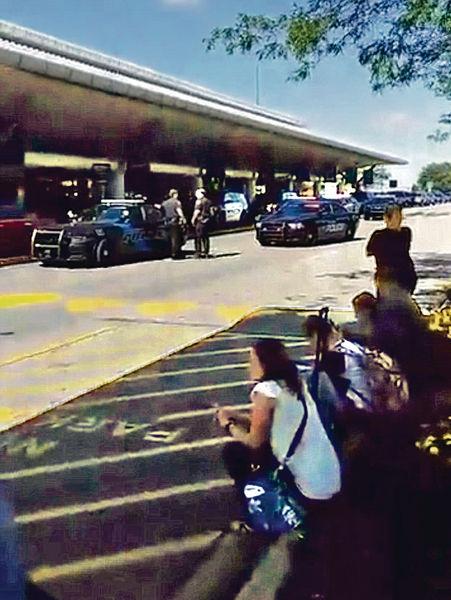 美密歇根機場警員遇襲 遭割頸命危