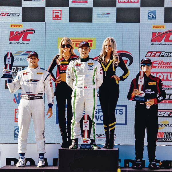 車手方駿宇世界賽分站奪冠 華人首例