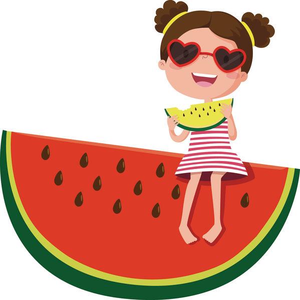 吃西瓜消暑 小心傷脾胃