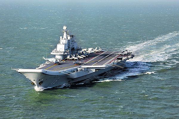 國防部證遼寧號訪港