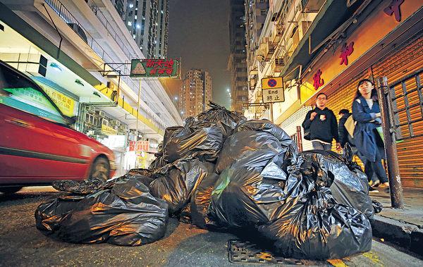 減廢措施未見成效 人均製廢量不跌反升