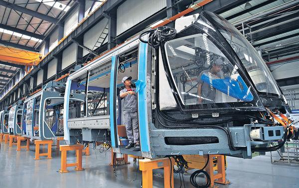 中車4月至6月 新合同金額258億人幣