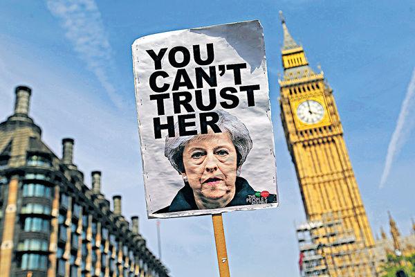 分手費談不攏 英威脅退脫歐談判