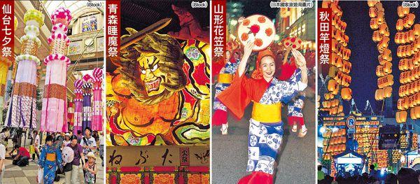 暑假特色團 $1.7萬玩日本東北4大祭