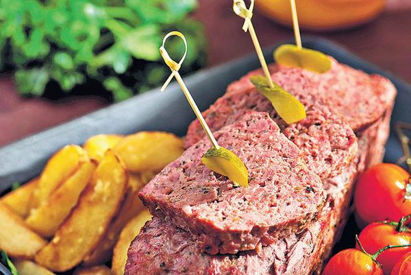 自助晚餐 歎農夫肉卷