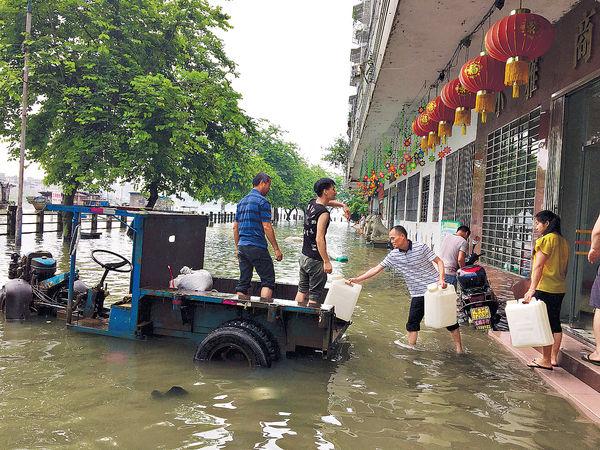 8省雨災33死 廣東廣西大洪水