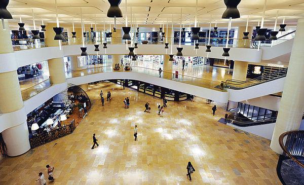 太古兩廣場 獲選全球最美麗商場