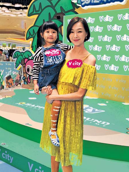 趙頌茹不介意女兒拍廣告