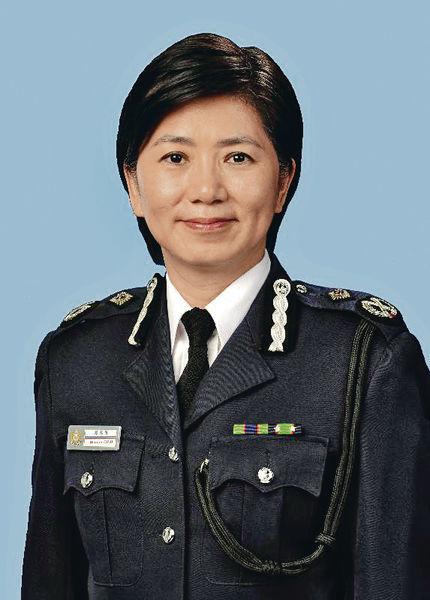 警隊首位女副處長 趙慧賢周六上任
