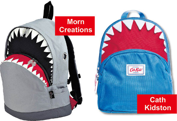 鯊魚背包涉被抄款 港品牌告Cath Kidston侵權