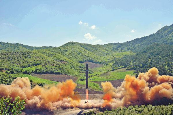 朝核導彈「靠嚇」 美動武「得把口」 朝鮮半島難開戰