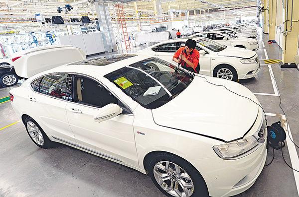 吉利6月總銷量 按年增91%