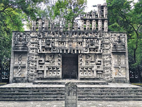 摩登與古老交織的墨西哥城