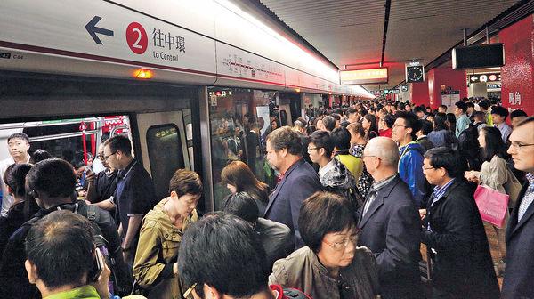 港鐵乘客人次5年後料增8.5%