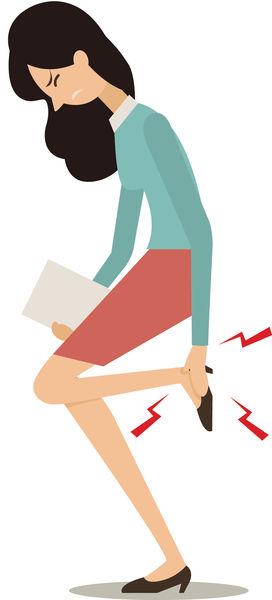 常穿高跟鞋 引發5大痛症